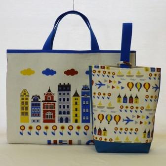 北欧旅行の絵本バッグセット
